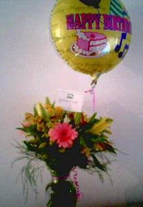 Flowers from Mom